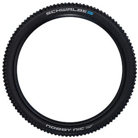 "SCHWALBE Nobby Nic Super Ground Evo Folding Tyre 27.5x2.25"" TLE E-50 Addix Speedgrip SnakeSkin, black"